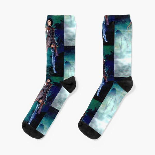 Fanny Blomme Tribes scarf by Dominartist Socks