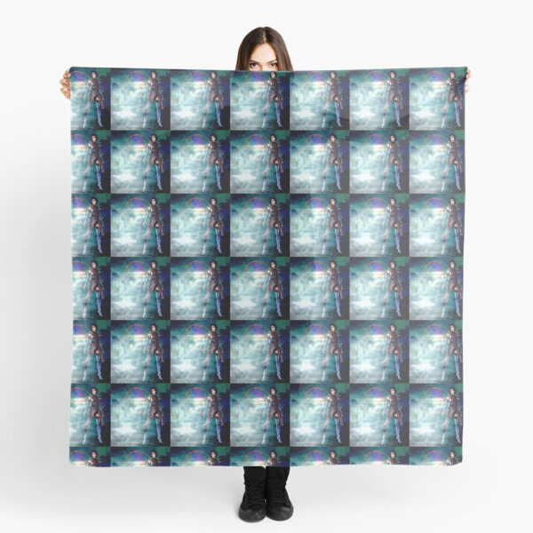 Fanny Blomme Tribes scarf by Dominartist Scarf