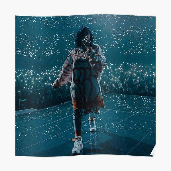 Póster Billie en el escenario Póster
