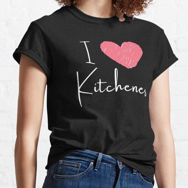 I Love Kitchener - Heart Canada Classic T-Shirt