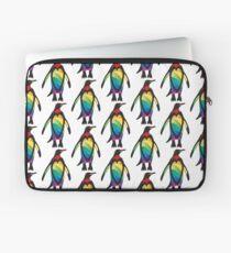 Rainbow Penguin Laptop Sleeve