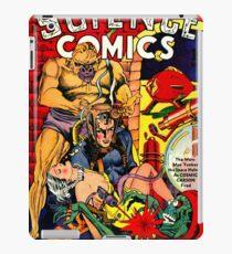 Vintage Science Comic Hero iPad Case/Skin