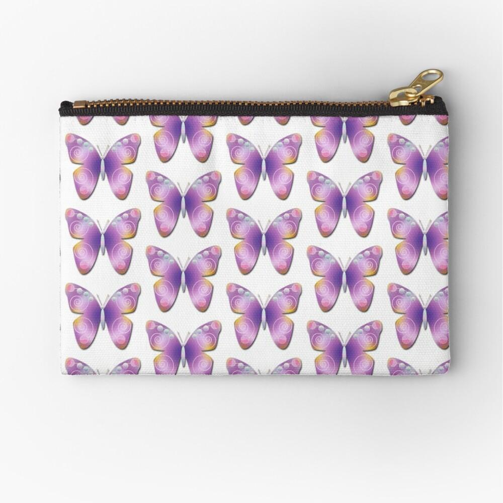 Butterfly Fantasy Zipper Pouch