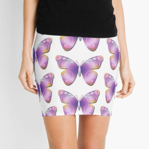 Butterfly Fantasy Mini Skirt