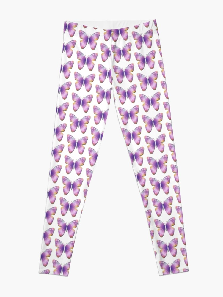 Alternate view of Butterfly Fantasy Leggings