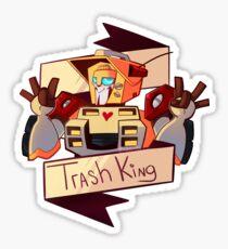 Trash King Sticker
