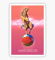 James Baxter Sticker