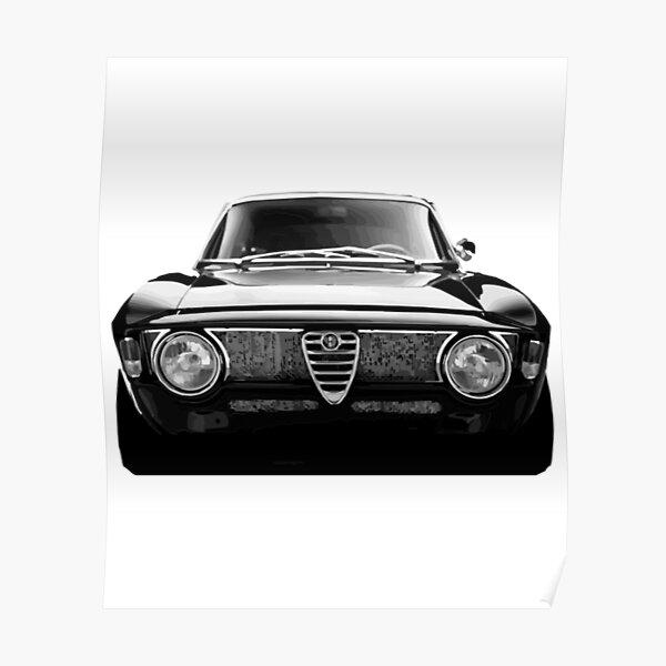 Alfa Romeo Gtv Schwarz GTV Poster