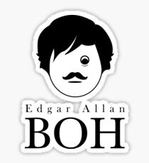 Edgar A. Boh Sticker