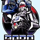 Robo Ghetto Blaster by javiclodo