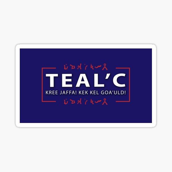 Shal'kek Nem'ron, Brother Teal'c Sticker