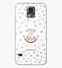 CZN - Dedícate a lo que te haga FELIZ Case/Skin for Samsung Galaxy