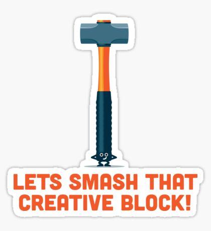Character Building - Sledgehammer Sticker