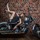 Biker Babe by PhotoWorks