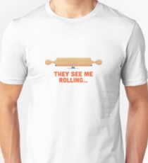 Character Building - Rolling Unisex T-Shirt