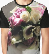 Roses-Cull Graphic T-Shirt