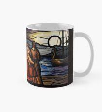"""Vikings"" Art - Stained Glass Style Mug"
