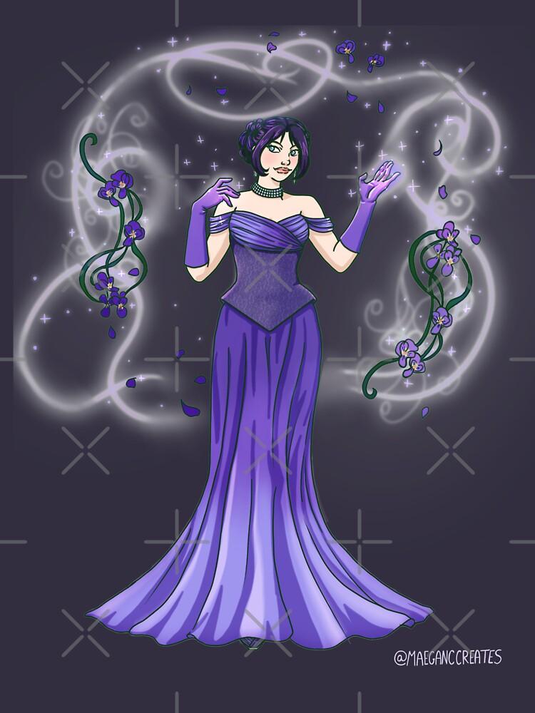 November Violets by MaeganCook