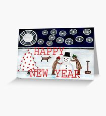 HAPPY NEW YEAR 20 Greeting Card