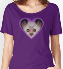 LOVE: Lemurs (Aye-Aye) Women's Relaxed Fit T-Shirt
