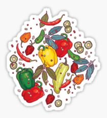 Hot & spicy! Sticker