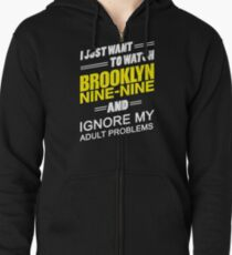Ignore My Adult Problems.. Zipped Hoodie