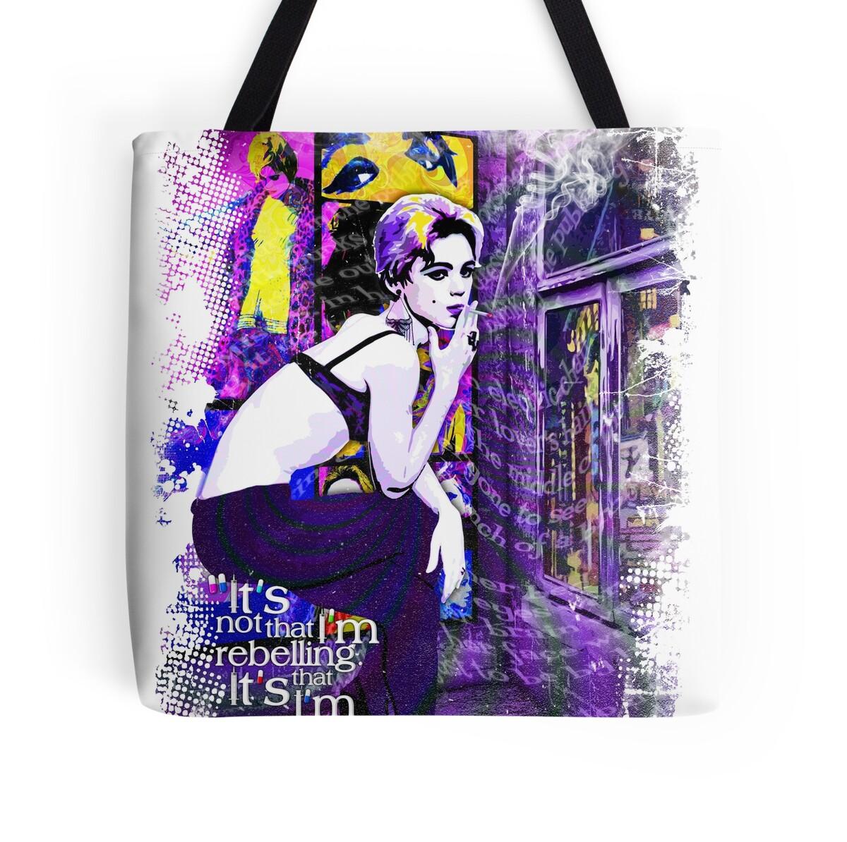 Art Bag Nyc Edie Sedgwick Warhol Factory Girl Nyc The Factory Pop Art