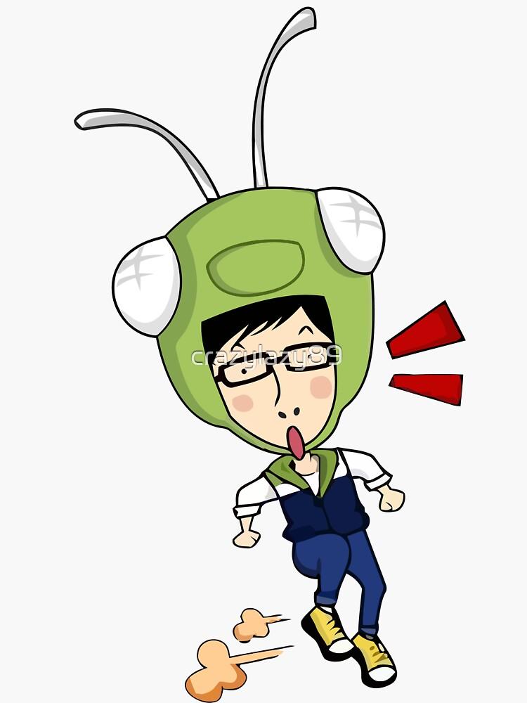 """Running Man Yoo Jae Suk Shirt - Grasshopper"" Sticker by ..."