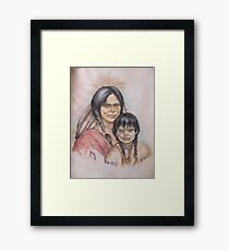 Native New Yorkers Framed Print