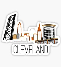 CLE Skyline III Sticker