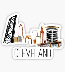 CLE Skyline III Sticker
