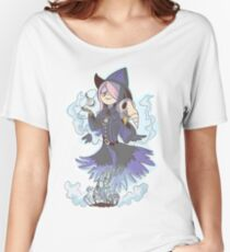 Susy the Crow ( Clear BG)  Women's Relaxed Fit T-Shirt