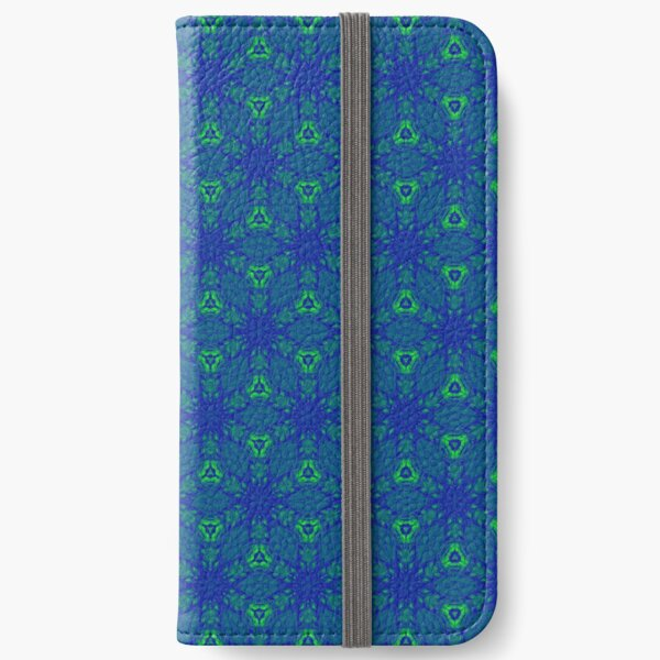 Seamless Honeycomb Pattern iPhone Wallet