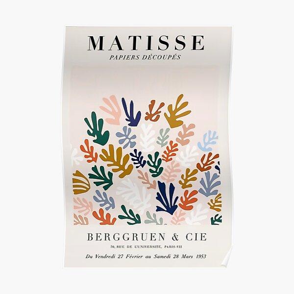 Recorte de Matisse Póster