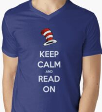 READ ACROSS AMERICA DAY - Keep Calm and Read On T-Shirt