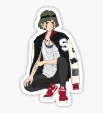 Yung Mononoke Sticker