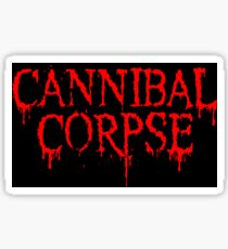 Cannibal Corpse apparel and phone cases Sticker