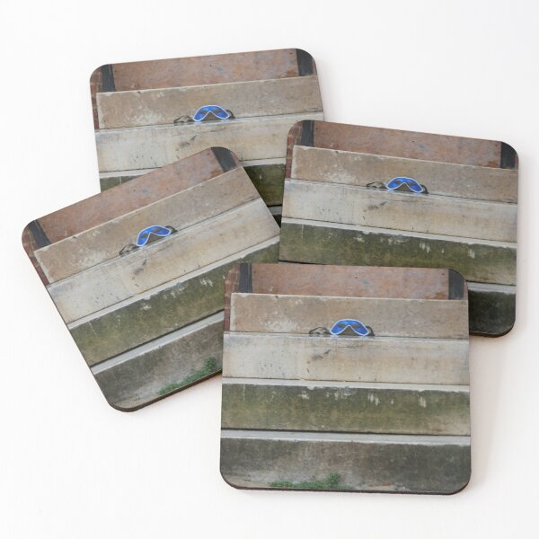 City Texture Unmasked Coasters (Set of 4)