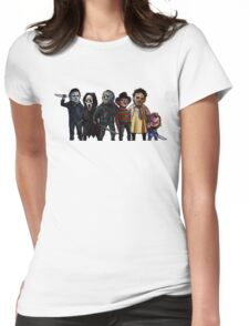 Slasher Squad Womens Fitted T-Shirt