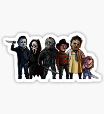 Slasher Squad Sticker