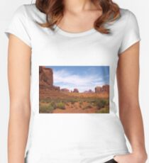 Into the Valley I Will Go Women's Fitted Scoop T-Shirt