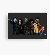 Slasher Squad Canvas Print