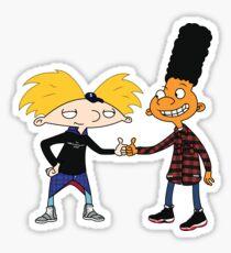 Hey Arnold Sticker