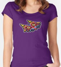 Isometric Gamer - Majora's Mask Women's Fitted Scoop T-Shirt