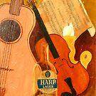 Harp Strings by Woodie