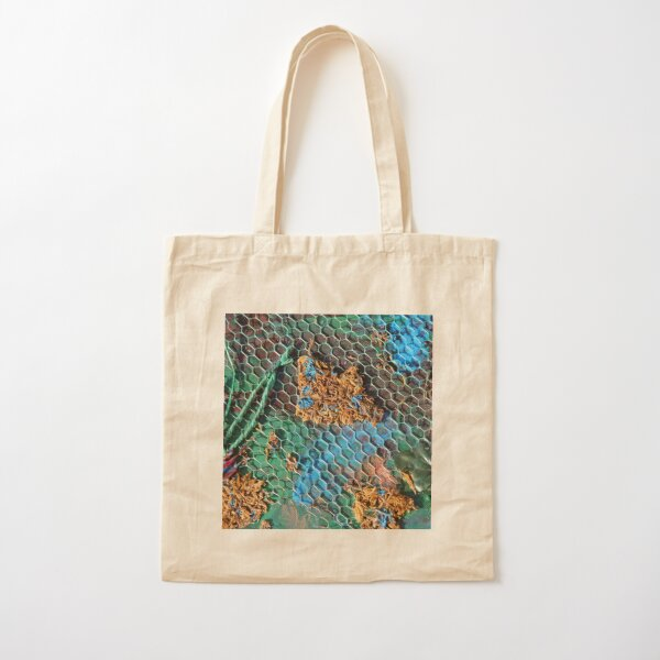 Plant Life With Blue Cotton Tote Bag