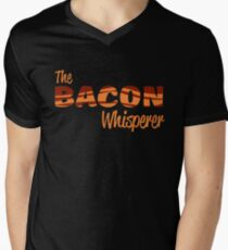 The Bacon Whisperer Men's V-Neck T-Shirt