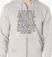 Game of Thrones - Tyrion Quote Zipped Hoodie