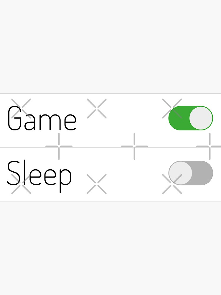 Game On Sleep Off by a-golden-spiral