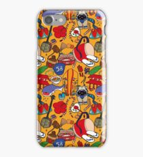 Okinawa theme illustration handmade iPhone Case/Skin